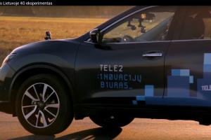 Vilniečiai galės išbandyti interneto greičiu važiuojantį automobilį
