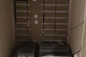 Net betono blokai neapsaugojo kontrabandininkų nuo muitinės rentgeno