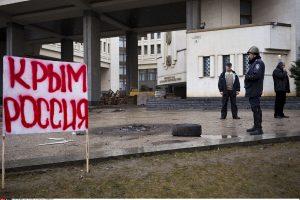 """Rusija Kryme sulaikė ukrainiečių """"teroristų"""" grupuotę"""
