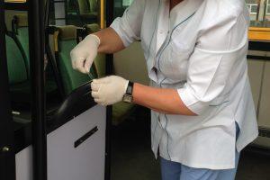 Vilniaus autobusuose ir troleibusuose naikins virusus ir bakterijas
