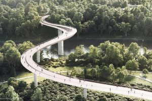Kokius tiltus per Nerį architektai siūlo Vilniui?