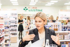 Vilniuje duris atvėrė pirmoji šalyje grožio vaistinė