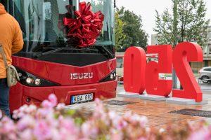 Sostinėje jau kursuoja 52 privačių vežėjų autobusai