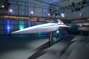 """Pristatytas greitesnio už """"Concorde"""" viršgarsinio lėktuvo prototipas"""