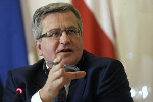 Rokiškėnams – buvusio Lenkijos prezidento pagalbos ranka