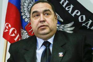 Rytų Ukrainoje per sprogimą sužeistas separatistų vadas I. Plotnickis