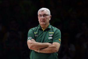 J. Kazlauskas apsisprendė – palieka nacionalinę krepšinio rinktinę