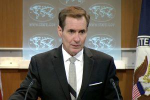 JAV smerkia Rusijos parlamento rinkimus Kryme
