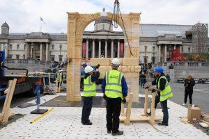 Londono Trafalgaro aikštėje bus atkurta Palmyros triumfo arka