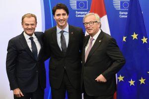 ES ir Kanada pasirašė 7 metus derintą laisvosios prekybos sutartį