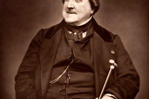 Apie G. Rossini gyvenimą žinių nedaug, anekdotų – apstu