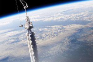 Be ribų: bendrovė suprojektavo aukščiausią planetos dangoraižį ant asteroido