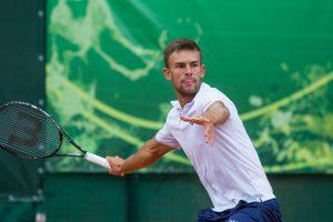 L. Grigelis suklupo ties ATP teniso turnyro Italijoje šešioliktfinaliu