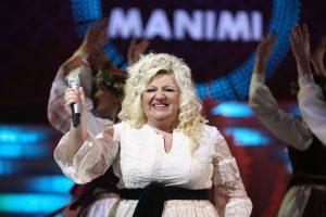 Dainininkei D. Bilevičiūtei juodaodė vos neišdūrė akių