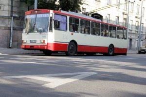 Nuo birželio 13 d. – vasara Vilniaus viešajame transporte