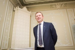 Kultūros ministras Š. Birutis su darbo vizitu lankosi JAV