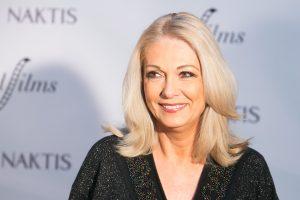 Aktorė G. Baikštytė mini 65-ąjį jubiliejų