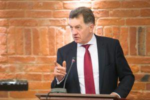 A. Butkevičius: JT narystė leido Lietuvai prisidėti prie tarptautinės taikos