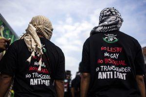 Indonezijos pareiškimas: čia nėra vietos homoseksualams