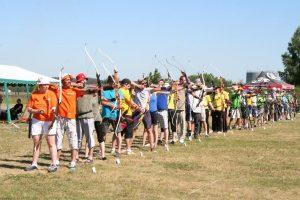 Alytuje – didžiausios Lietuvoje šaudymo iš lanko varžybos