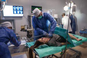 Kultinio serialo filmavimams Vilniuje buvo pastatyta nauja ligoninė