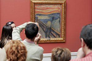 """Atskleista neaiškios dėmės ant E. Muncho """"Klyksmo"""" paslaptis"""