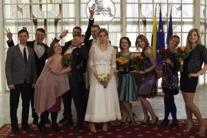 Aktorė A. Štukytė pasipuošė vestuvine suknele