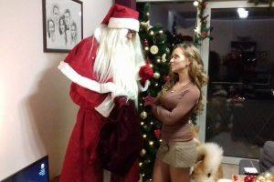 M. Šalčiūtė Kalėdų senelio paprašė atnešti vaikiną