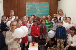 Vilniaus gimdymo namuose – švietėjiškos paskaitos vaikams