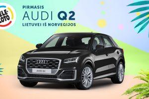 "Pirmasis vasaros ""Audi Q2"" – lietuvei iš Norvegijos"