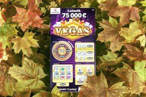75000 eurų laimėtojas: turiu laimingą ranką
