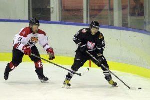 """Ledo ritulio čempionate – """"Rokiškio"""" ir """"Hockey Punks"""" pergalės"""
