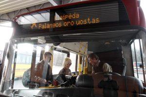 Pakoregavo autobuso į oro uostą grafiką