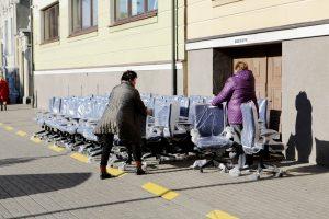 Uostamiesčio valdininkams – naujos kėdės