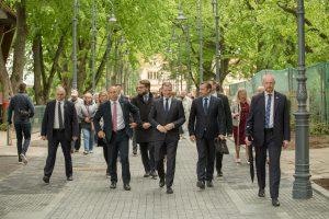 Politikų kelionės į pajūrį – už biudžeto eurus