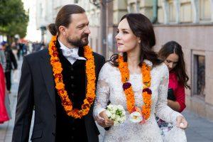 Susituokė aktorė V. Bičkutė, šventėje – nė lašo alkoholio