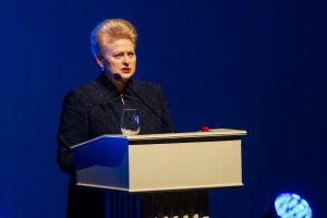 D. Grybauskaitė antikorupcijos dieną ragina neleisti korupcijai apvogti valstybės