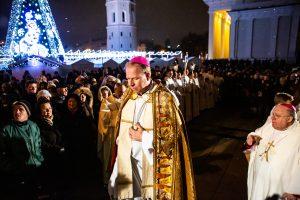 Vilniaus vyskupai: tegu Jėzaus artumas atneša didį džiaugsmą ir viltį