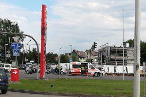 Po avarijos Aleksote keleivė išvežta į Klinikas