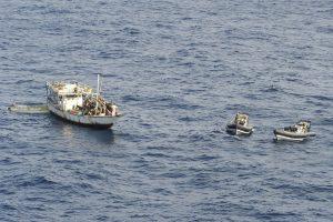 Išlaisvinti Lenkijos jūreiviai, kurie buvo pagrobti piratų