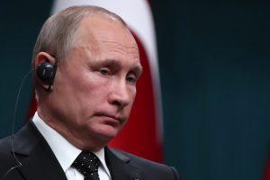 V. Putinas: JAV sprendimas gali perniek paversti Artimųjų Rytų taikos procesą