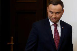 Prezidentas: Lenkija nedalyvavo Holokauste