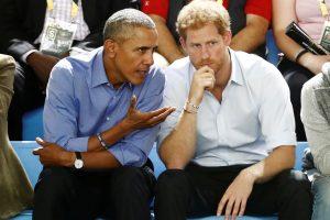B. Obama princui Harry atskleidė įdomių gyvenimo detalių