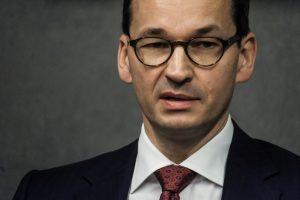 """Lenkijos premjeras prieš vykdamas į Berlyną sukritikavo NATO """"veltėdes"""""""