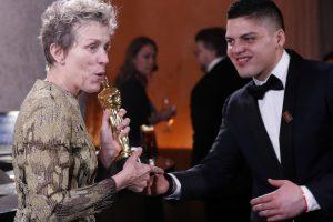 """Per dūzges pavogė aktorės F. McDormand """"Oskaro"""" statulėlę"""