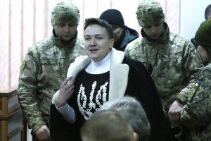 Melo detektorius parodė, kad N. Savčenko rengė teroro aktą