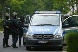 Vokietijoje per autobuso avariją nukentėjo britų moksleiviai