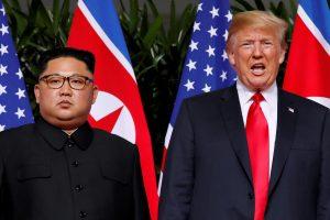 D. Trumpas atskleidė tikslią vietą, kur vyks susitikimas su Šiaurės Korėjos lyderiu