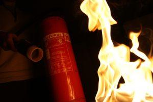 Rokiškio rajone dega namas, pranešta apie viduje esantį žmogų