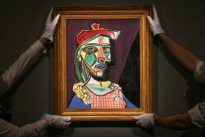 P. Picasso paveikslo kaina aukcione viršijo visus lūkesčius